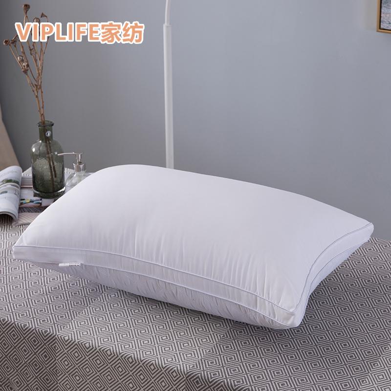 VIPLIFE 全棉枕头枕芯成人羽丝绒(单个)