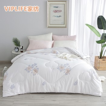VIPLIFE 新疆长绒棉棉花被 印花缝隙款棉花填充被子冬被 150*200cm(6斤)