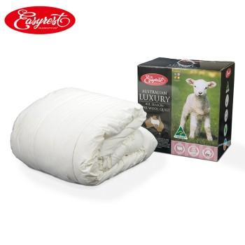 EasyRest 澳洲进口纯羊毛被四季被300GSM(克/平方)2.0m*2.3m
