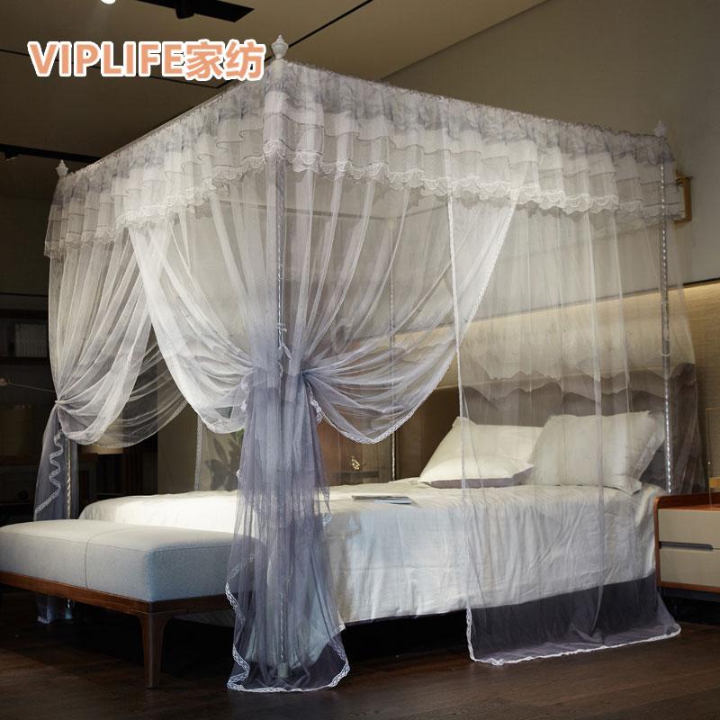 VIPLIFE 32号加粗管三开门宫廷式蚊帐1.5米床