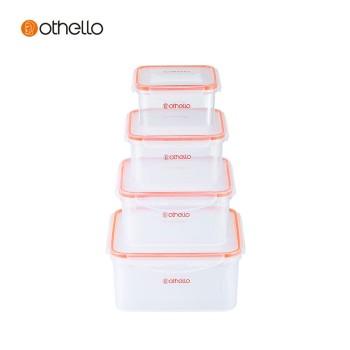 Othello 欧德罗 Novelty系列保鲜盒套装06-4款 NO-MB-06-4