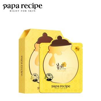 papa recipe 春雨 蜂蜜补水保湿面膜10片