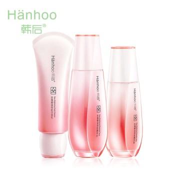 Hanhoo 韩后 玫瑰精油亮肤珍贵礼盒(洁面乳+精华水+精华乳)