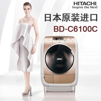日立BD-C6100C滚筒洗衣机