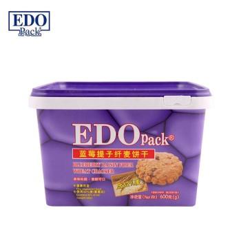 EDO Pack 蓝莓提子纤麦饼干600g【9月特惠】