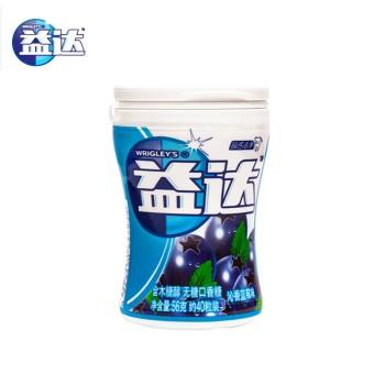 【积分】益达木糖醇无糖口香糖(沁香蓝莓味)