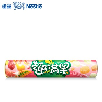 【年货节】雀巢趣满果情迷热带果汁软糖