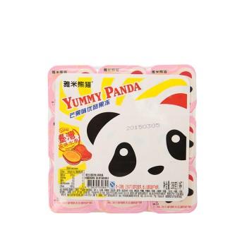 雅米熊猫 懮酪果凍(芒果味)288g