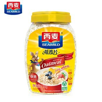 西麦简装纯燕麦片(即食)