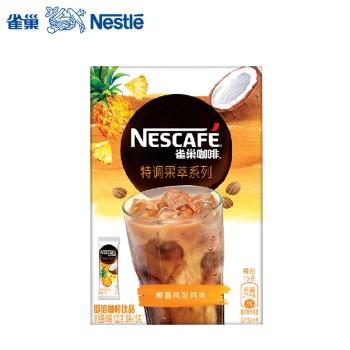 雀巢咖啡特调果萃系列椰香凤梨风味即溶饮品