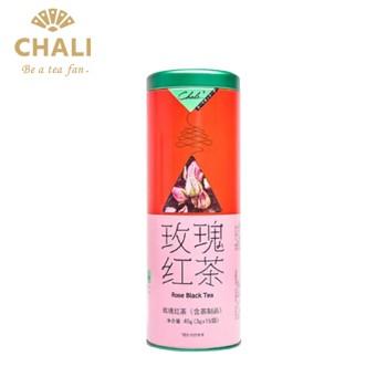 【12月特惠】CHALI茶里印刷玫瑰红茶罐装