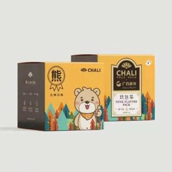【12月特惠】广百熊CHALI茶里九小盒盒装