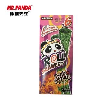 熊猫先生岩烧风味调味海苔卷