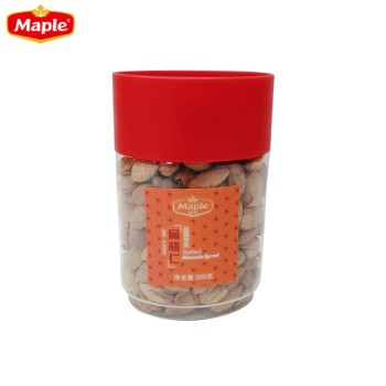 枫叶盐焗带壳扁桃仁(瓶装)