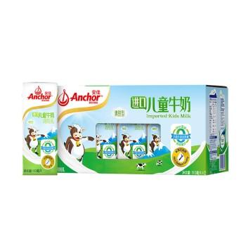 安佳普装儿童牛奶礼盒装