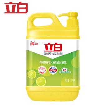 立白清新柠檬洗洁精柠檬去油
