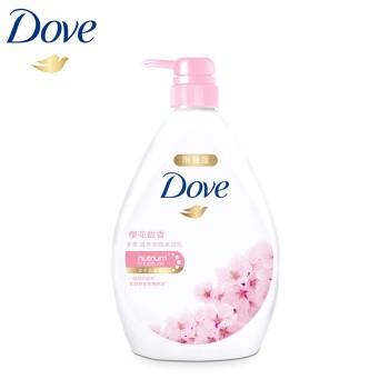 多芬樱花甜香滋养美肤沐浴乳