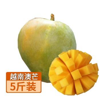 【亚博下载地址】越南 澳芒5斤约2-3个 芒果