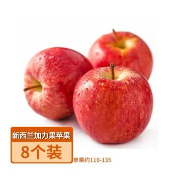 【亚博下载地址】新西兰 加力果苹果8个装(单果约110-135)80587