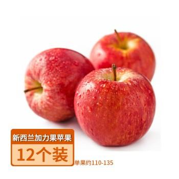 【亚博下载地址】新西兰 加力果苹果12个装(单果约110-135)80587
