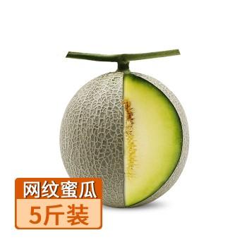 【亚博下载地址】山东 海阳网纹蜜瓜2个 5斤80461