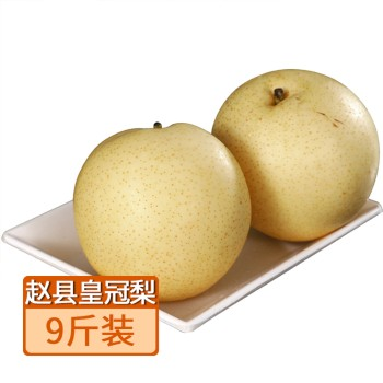 【亚博下载地址】河北 石家庄赵县皇冠梨9斤 80602 清润