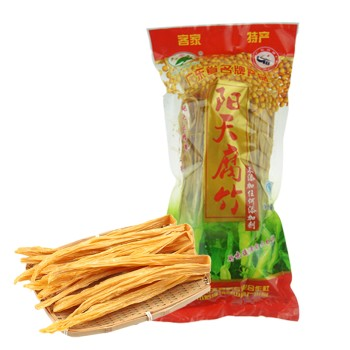 【亚博下载地址】 梅州 客家阳天腐竹400g 80411广东名优产品