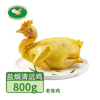 【亚博下载地址】清远  天农广府盐焗清远鸡1只 约800g365天老母鸡 8420地标产品