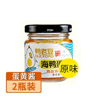 【亚博下载地址】广西 鸭老豆海鸭(原味)蛋黄酱80g/瓶*2瓶装80639