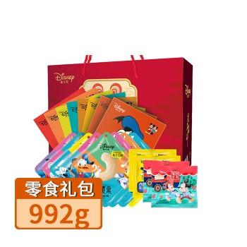【亚博下载地址】迪士尼 坚果零食礼包(红礼盒)80597