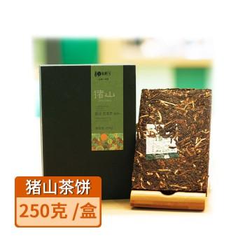 【亚博下载地址】江门 陈皮村 猪山陈皮普洱茶砖250克/1块 80449